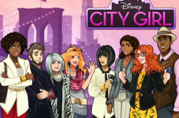 Disney City Girl: Facebook's Fierce New Fashion Game