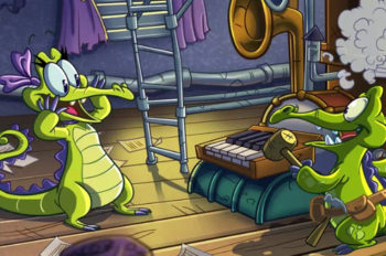 """Swampy's friend, Allie, comes to """"Where's My Water?"""""""