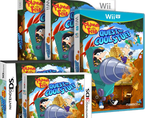 Summer Vacation Just Got Better with Release of All-New Phineas and Ferb: Quest for Cool Stuff Video Game