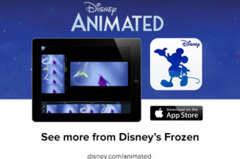 Disney Animated App Celebrates the New Frozen Trailer with Special Price Reduction