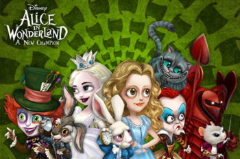 Hop Down the Rabbit Hole in All-new Mobile Game 'Alice in Wonderland: A New Champion'