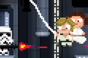 "New Scenes from ""Star Wars: Tiny Death Star"""