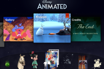 Explore the Art and Technology Behind Disney's Frozen with New Update to Disney Animated App