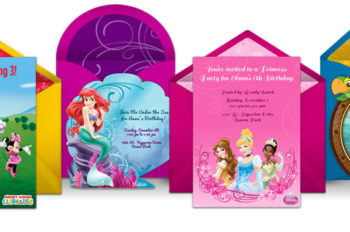 Spoonful.com Partners with Punchbowl for Disney Digital Invitation Collection