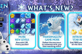 Defeat Marshmallow and New Levels in Frozen Free Fall Update