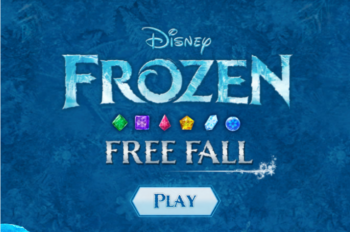 Frozen Free Fall Game Now Available on Facebook