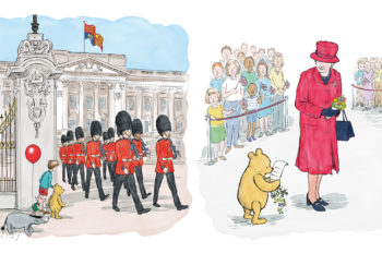 Celebrating 90 years of two much-loved British icons…In a brand new short adventure: Winnie-the-Pooh and the Royal Birthday