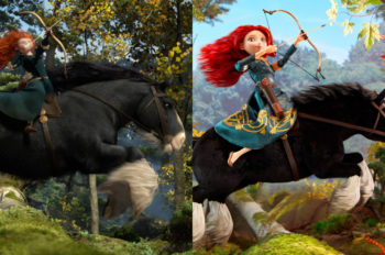 Toys Cast as Stars of Iconic Scenes from Disney Princess Movies