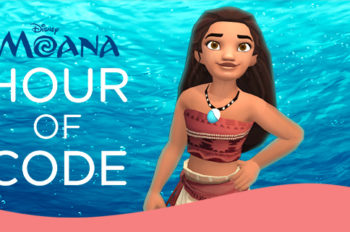 Disney Launches Global Online Coding Event with New Disney's Moana Hour of Code Tutorial