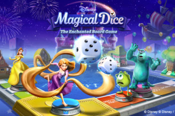 """""""Disney Magical Dice: The Enchanted Board Game"""" Goes Live Today!"""