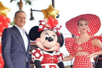 Minnie Mouse Receives Star On Hollywood Walk of Fame