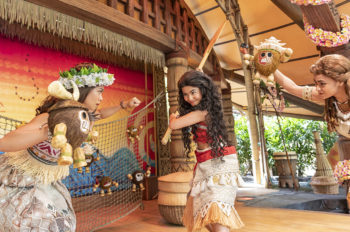 """Moana: A Homecoming Celebration"" Opens as the First New Experience of Hong Kong Disneyland's Multi-year Expansion"