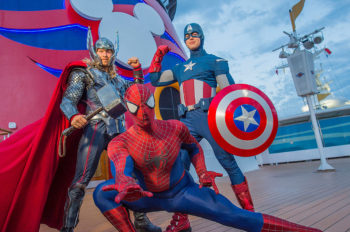 Disney Cruise Line Takes Guests on Epic Adventures in 2019 with Return of Star Wars Day at Sea and Marvel Day at Sea