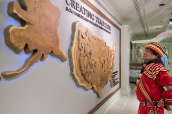 """Creating Tradition: Innovation and Change in American Indian Art"" debuts inside The American Adventure pavilion at Epcot"