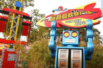 Toy Box Café Opens Today, Bringing Guests an Early Taste of Disney•Pixar Toy Story Land
