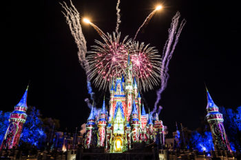 """New """"Happily Ever After"""" Fireworks and Projection Show Debuts at Magic Kingdom Park"""