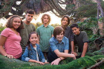 Young Stars of the Avatar Sequels Get Inspiration During Visit to Pandora – The World of Avatar at Walt Disney World Resort