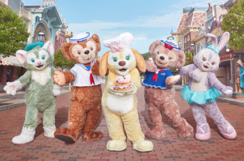 Cookie, Duffy the Disney Bear's newest friend, makes her global debut at Hong Kong Disneyland Resort