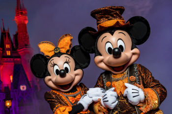 Festive Frights for Up to 35 Nights! New Mickey's Not-So-Scary Halloween Party Pass Is Perfect for Happy Haunting this Year at Walt Disney World Resort