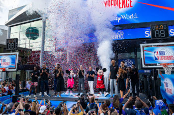 NBA Experience Grand Opening Is a Slam Dunk at Walt Disney World Resort