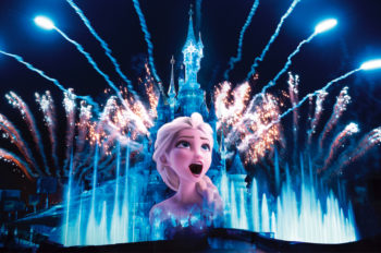 Frozen Comes To Life At Disneyland Paris in January 2020