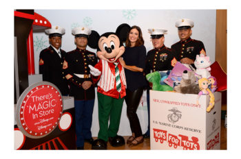 ACTRESS and SINGER/SONGWRITER MANDY MOORE KICKS OFF SHOPDISNEY.COM|DISNEY STORE – TOYS FOR TOTS