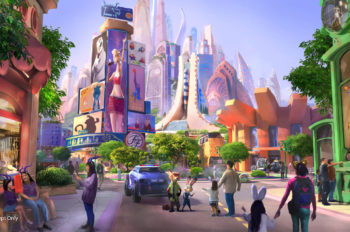 Site Preparation Completed for Shanghai Disneyland's Zootopia-themed Expansion, Main Construction Has Commenced