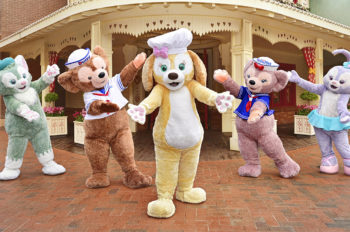 Duffy's Newest Friend CookieAnn Joins Shanghai Disney Resort