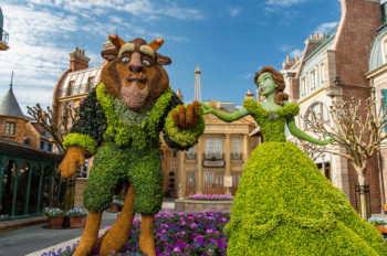 27th EPCOT International Flower & Garden Festival Blooms 90 Days from March 4 to June 1, 2020