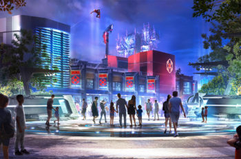 Avengers Campus at Disneyland Resort Introduces WEB SLINGERS: A Spider-Man Adventure, a New Attraction for Guests of All Ages to Discover Their Web-Slinging Super Powers