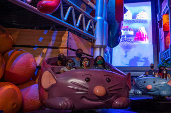 Grand Opening of Remy's Ratatouille Adventure at EPCOT Set for Oct. 1, 2021, in Honor of Walt Disney World Resort's 50th Anniversary