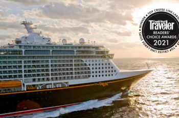 Conde Nast Traveler Readers Recognize Disney Cruise Line as the Best 10 Years in a Row